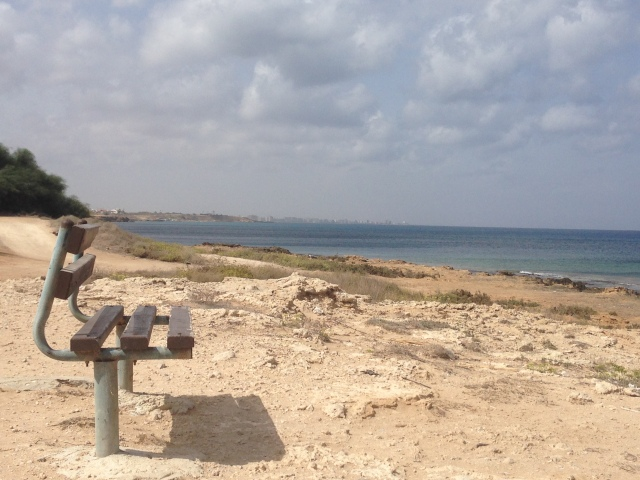 Famagusta Bay with the view of the ghost city